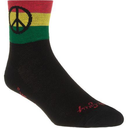 SockGuy Peace 3 3in Socks