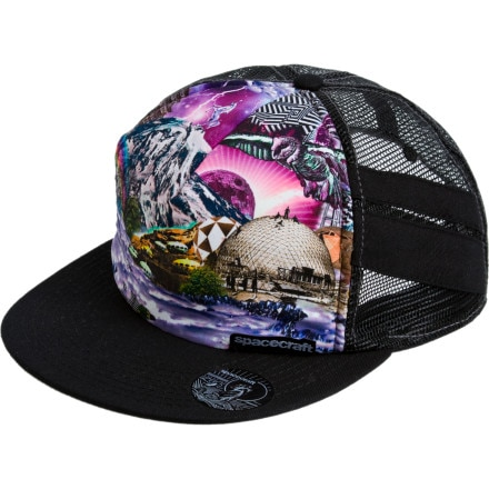 Spacecraft Space World Trucker Hat