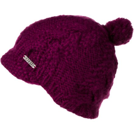 Spacecraft Ruby Visor Beanie - Women's