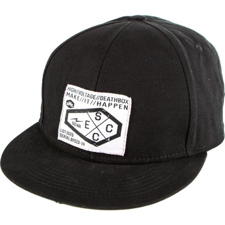 Spacecraft Electric Coffin Snapback Hat
