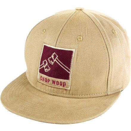 Spacecraft Chop Wood Snapback Hat