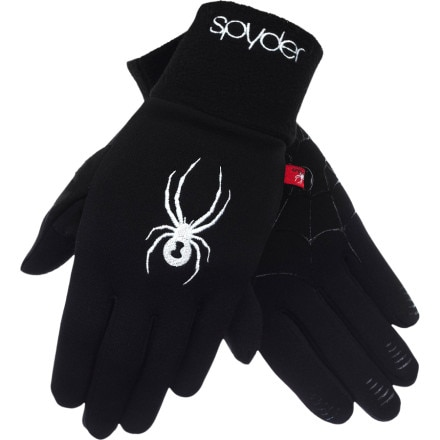 photo: Spyder Women's Stretch Fleece Glove fleece glove/mitten