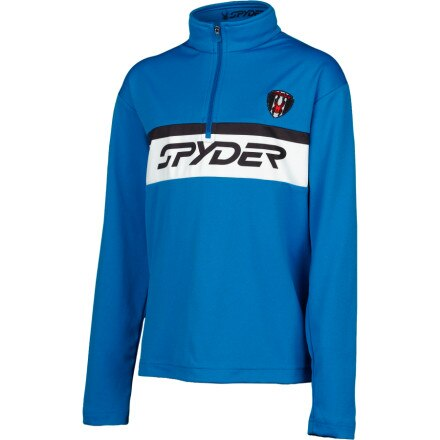 photo: Spyder Retro Dry W.E.B. T-Neck base layer top