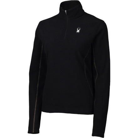 photo: Spyder Men's Speed 100 1/4 Zip long sleeve performance top