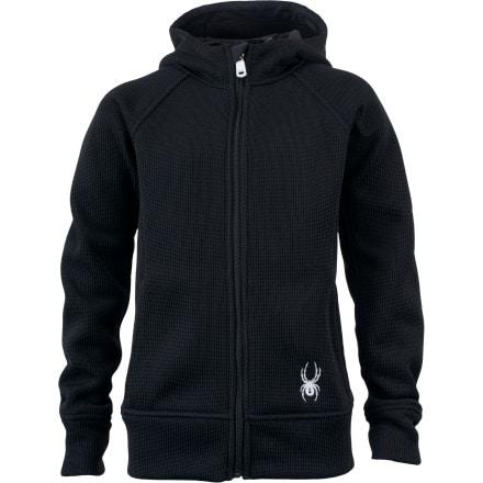 Spyder Full-Zip Mid Weight Hooded Fleece Jacket