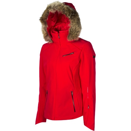 Spyder Posh Real Fur Trim Jacket - Women's