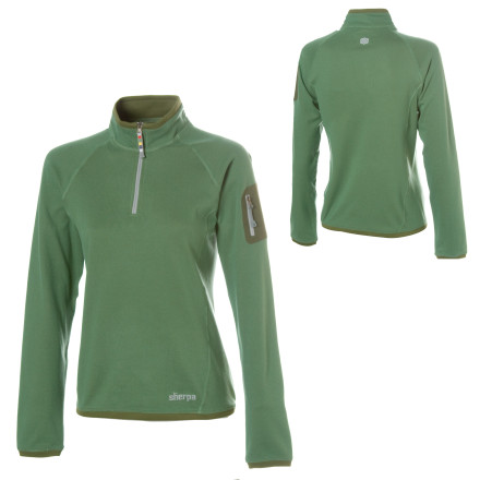 photo: Sherpa Adventure Gear Dikila Quarter Zip