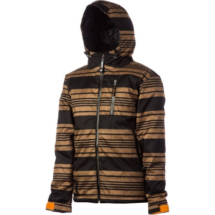 Sessions Techy Heather Stripe Jacket - Boys'