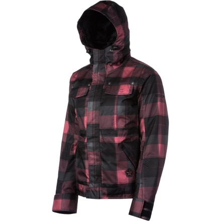 Sessions Energy Plaid Jacket - Women's