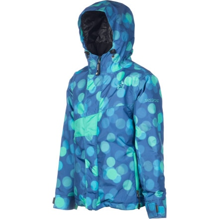 Sessions Edge Dots Snowboard Jacket - Girls'