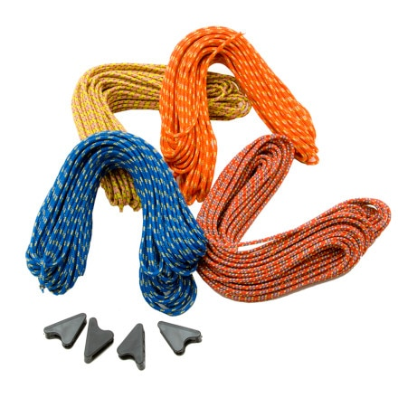 photo: Sterling Rope GloCord with Line Locks