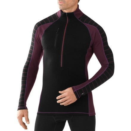 SmartWool PhD NTS Mid 250 Funnel Zip Top - Men's
