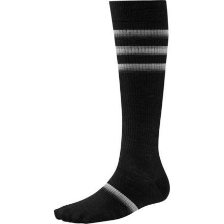 SmartWool StandUP Graduated Compression Stripe Socks - Women's