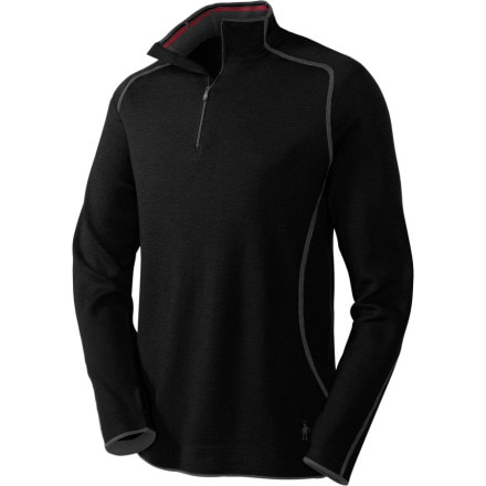 photo: Smartwool Women's TML Light SportKnit 1/4 Zip long sleeve performance top
