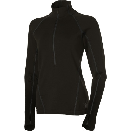 photo: Smartwool Women's TML Light SportKnit Half-Zip long sleeve performance top