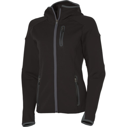 photo: Smartwool TML Mid Full-Zip Hooded Jacket base layer top
