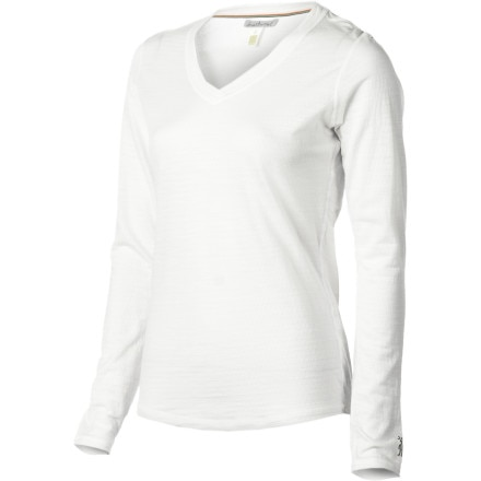 SmartWool Microweight V-Neck Top - Women's