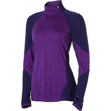 SmartWool NTS Lightweight Asymmetrical Zip Top - Women's