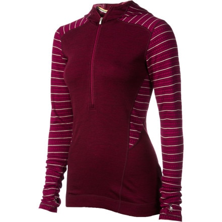 SmartWool Midweight Pattern Hooded Top - Women's