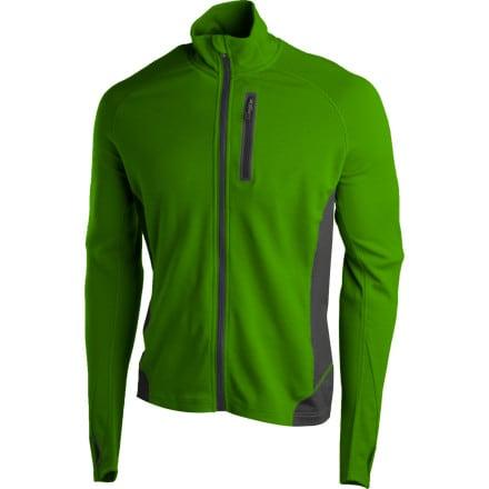 photo: Smartwool Men's TML Light SportKnit Full-Zip Top long sleeve performance top