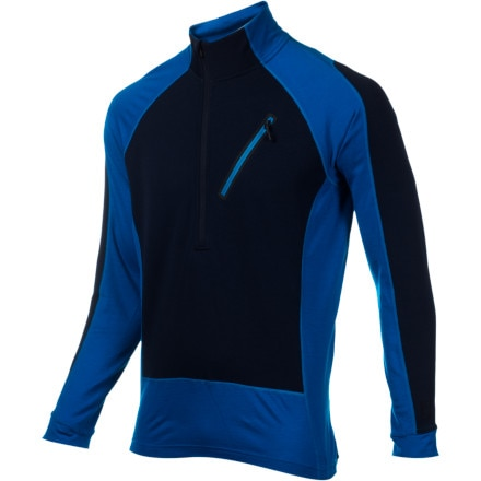 photo: SmartWool PhD HyFi Divide Half Zip