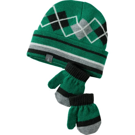 SmartWool Argyle Hat/Mitt Set - Toddler and Infants'