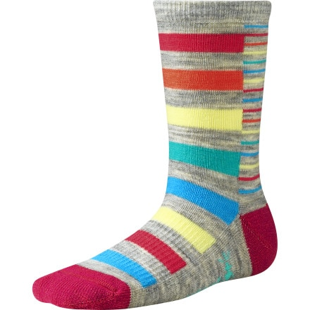 SmartWool Split Stripe Sock - Girls'