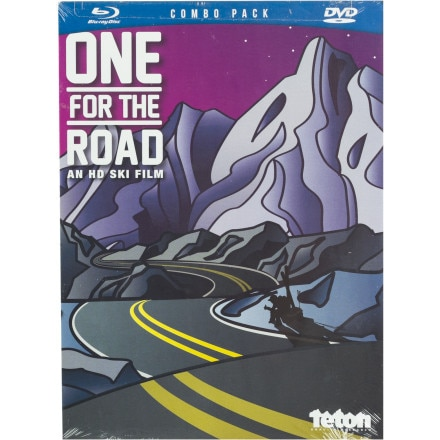 Teton Gravity Research One For The Road DVD/Blu-Ray Combo