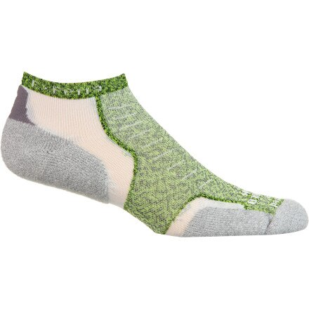 Thorlos Experia XCCU Thin Cushion Coolmax Micro Mini Crew Sock