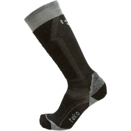 photo: Teko Men's MERINO Ski Light Sock snowsport sock
