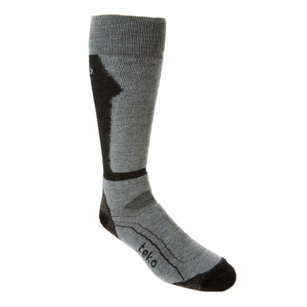 photo: Teko Men's MERINO Medium Ski Sock snowsport sock
