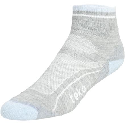 Teko Organic SIN3RGI Light Minicrew Running Socks - Women's