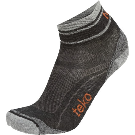 Teko Organic SIN3RGI Light Minicrew Running Socks