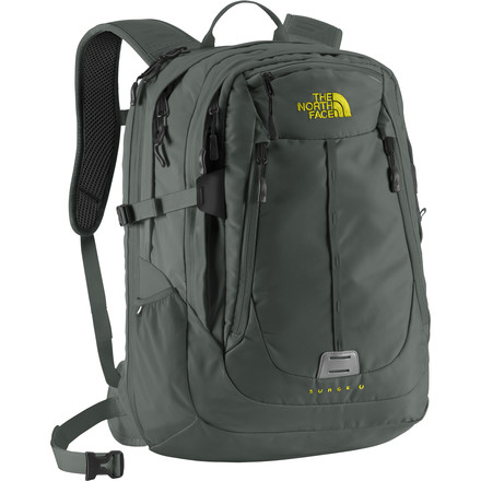 The North Face Surge II Charged Laptop Backpack - 1953cu in