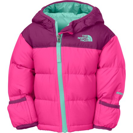 The North Face Nuptse Hooded Down Jacket - Infant Girls'