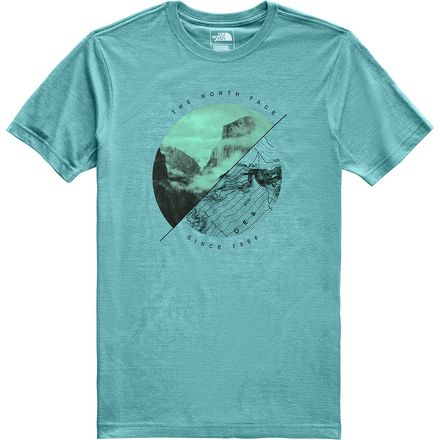 The North Face Good Ole Geode Tri-Blend T-Shirt - Mens