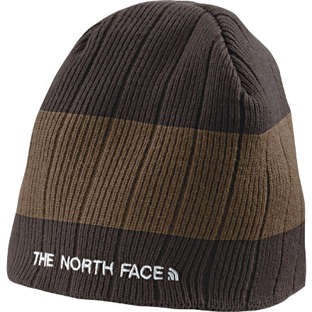 photo: The North Face Big Stripe Beanie winter hat