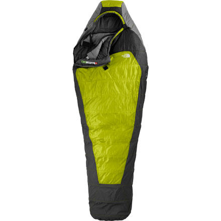 photo: The North Face Men's Snowshoe 3-season synthetic sleeping bag