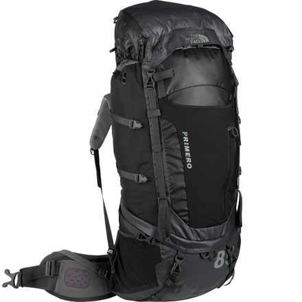 photo: The North Face Primero 85 expedition pack (4,500+ cu in)