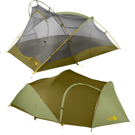The North Face Big Fat Frog 24 Bx Tent: 2-Person 3-Season