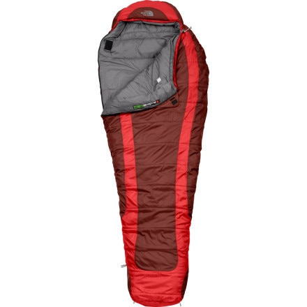 photo: The North Face Elkhorn 3-season synthetic sleeping bag