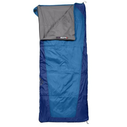 photo: The North Face Allegheny warm weather synthetic sleeping bag