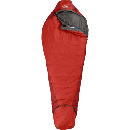 photo: The North Face Fission 3-season synthetic sleeping bag
