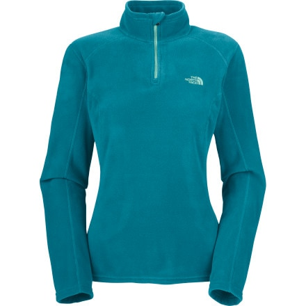 photo: The North Face Women's TKA 100 Microvelour Glacier 1/4 Zip