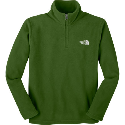 photo: The North Face Boys' Glacier 1/4 Zip