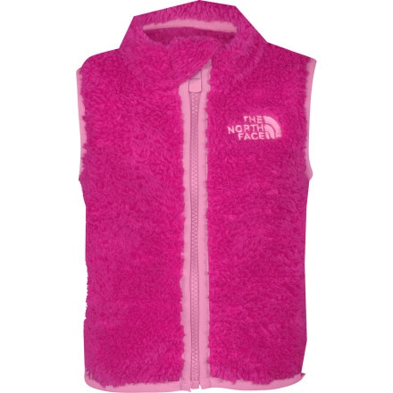 photo: The North Face Girls' Plushee Vest fleece vest