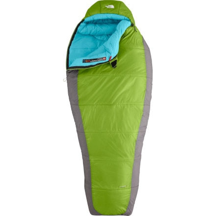 The North Face Snow Leopard Sleeping Bag: 0 Degree Synthetic - Women's