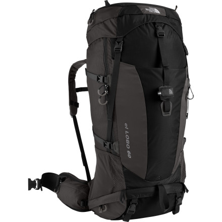 The North Face El Lobo 60 Backpack - 3350-3950cu in