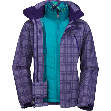 photo: The North Face Amendment Triclimate Jacket snowsport jacket