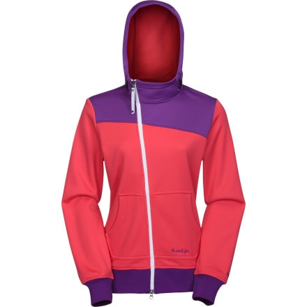 photo: The North Face Chrissie Hoodie soft shell jacket